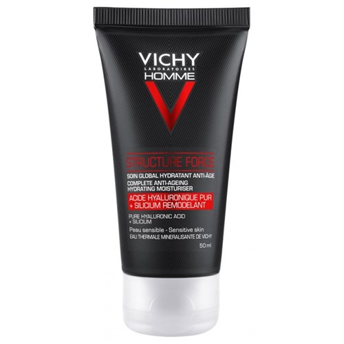 SOIN GLOBAL HYDRATANT ANTI-AGE STRUCTURE FORCE 50ML HOMME VICHY