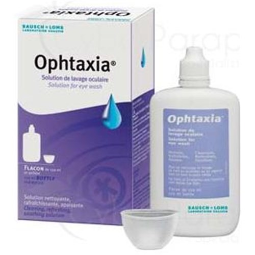 OPHTAXIA, Solution ophtalmique pour lavage oculaire. - fl 120 ml