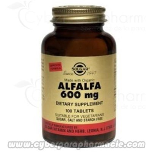 ALFALFA 600 mg 60 Tablets
