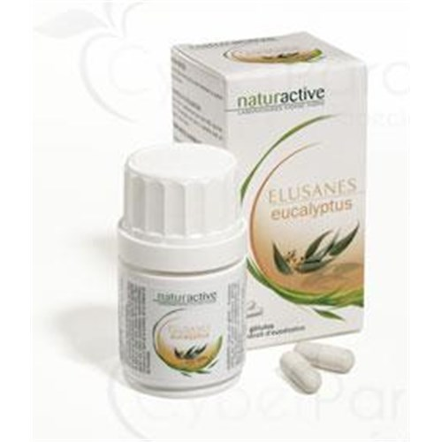 Elusanes EUCALYPTUS Capsule dietary supplement containing eucalyptus. - Bt 30