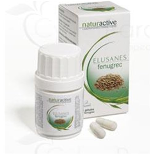 Elusanes FENUGREEK Capsule dietary supplement containing fenugreek. - Bt 30