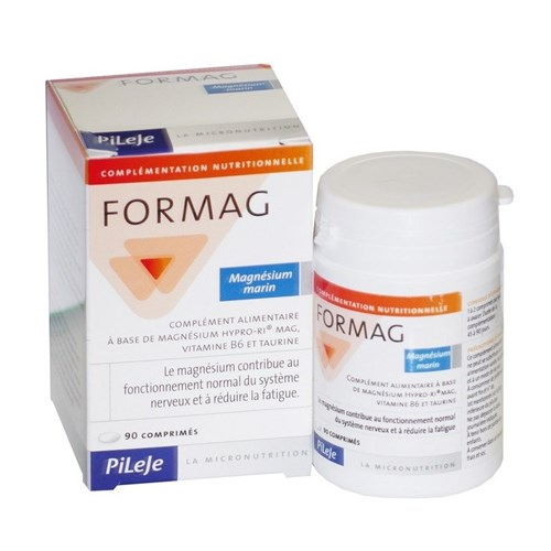 FORMAG, tablet, nutritional supplement containing magnesiu B6 vitamin and taurine 90 tabs