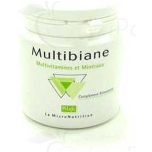 MULTIBIANE Capsule dietary supplement containing vitamins and minerals. - box of 30
