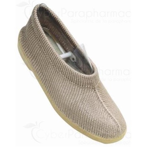 MAILLA BALLERINA BEIGE closed shoe relaxation and comfort for women. beige, size 38 - pair