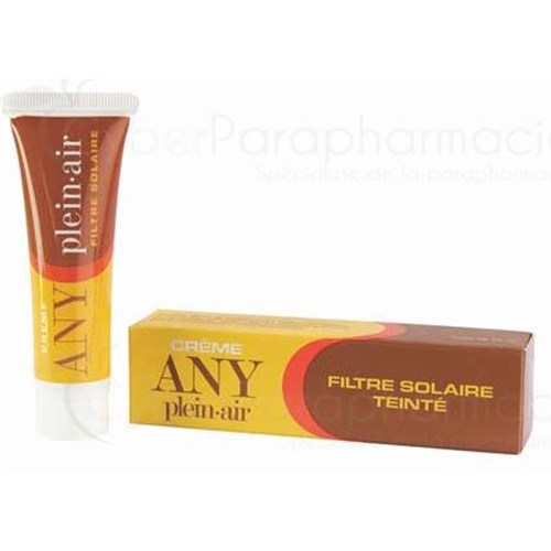 ANY OUTDOOR CREAM, Tinted Sunscreen. - 25 g tube