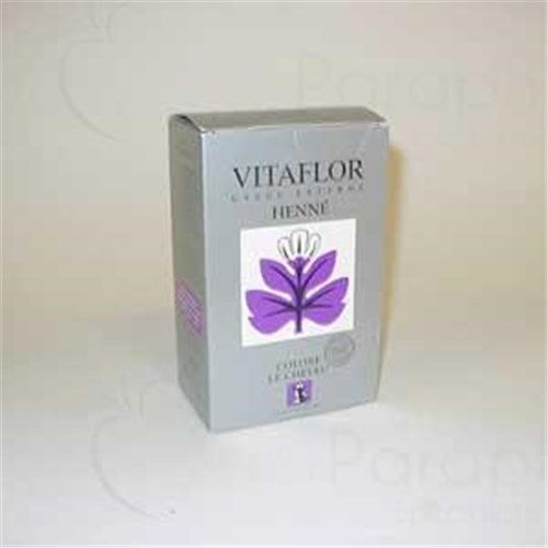 HENNA NATURAL VITAFLOR, leaf powder natural henna. - Bt 200 g