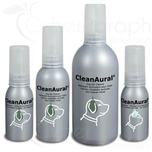 CLEANAURAL, ear cleaning solution for dogs. - 50 fl oz