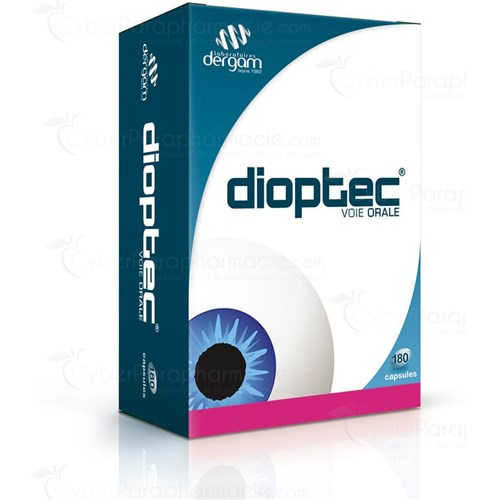 DIOPTEC, Capsule, natural food supplement to eyepiece. - Bt 180