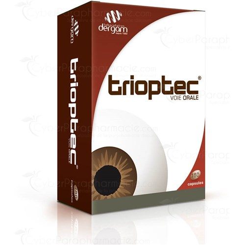 TRIOPTEC, Capsule dietary supplement eyepiece. - Bt 180