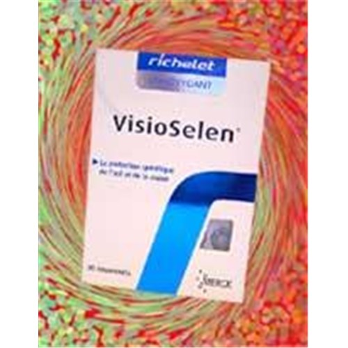 VISIOSELEN RICHELET, tablet, nutritional supplement to eyepiece. - Bt 30